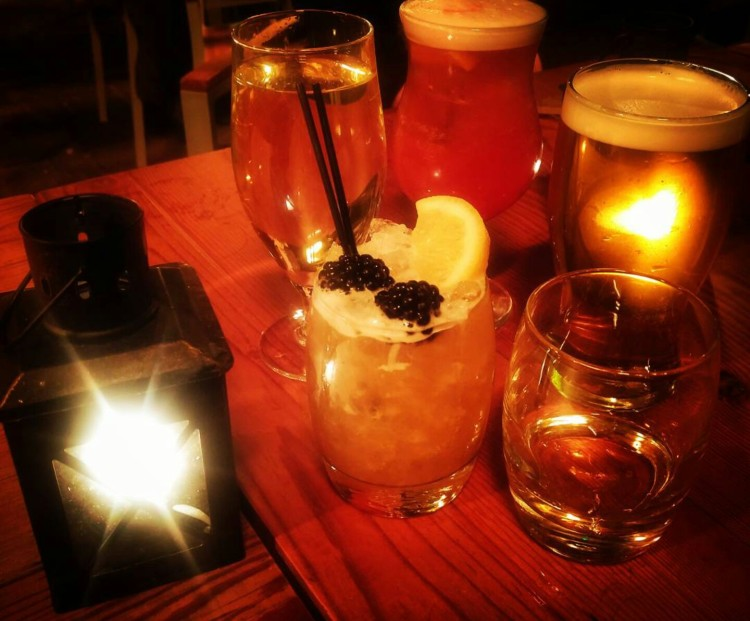 Cocktails at Stonegate Yard York