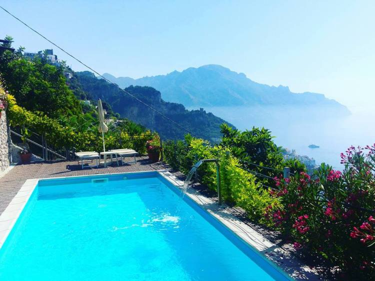Amalfi view Italy