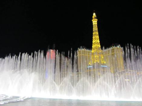 Bellagio Fountains Las Vegas USA