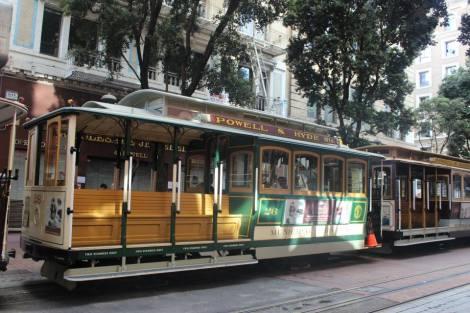 tram in San Francisco USA