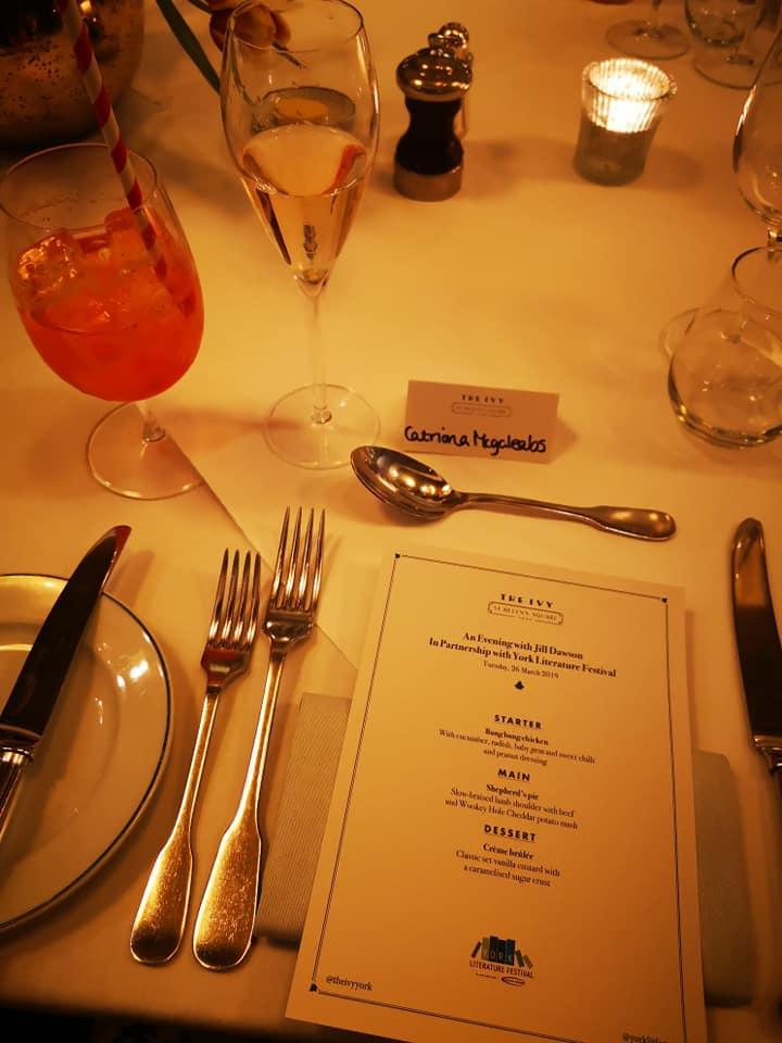 Set menu at Ivy York
