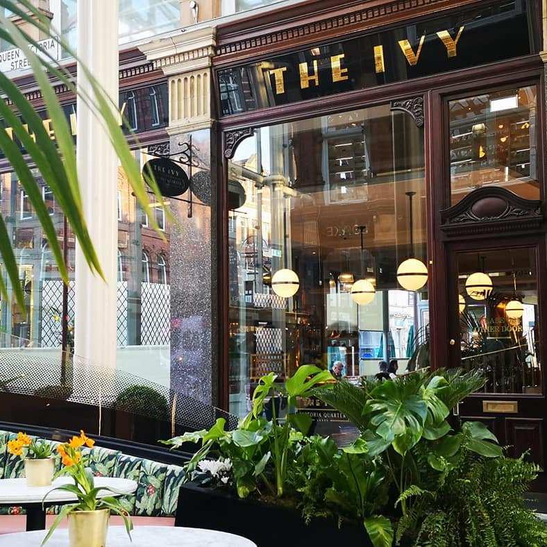 The Ivy Victoria Quarter Leeds
