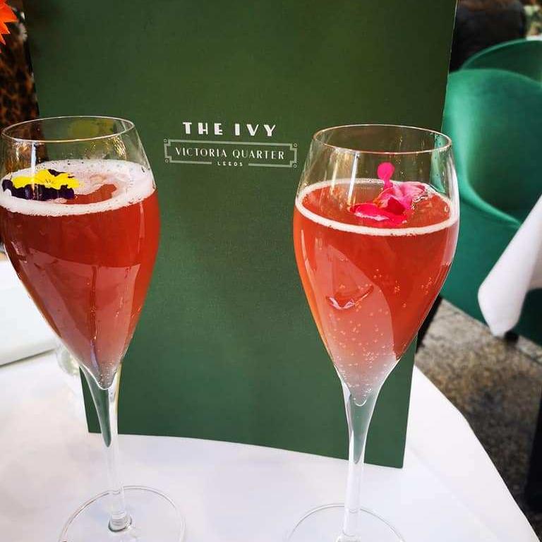 Cocktails at Ivy Leeds